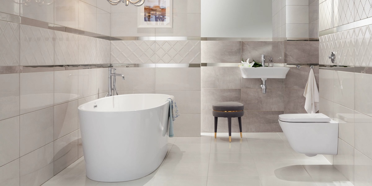 Преимущества покупки плитки для ванной